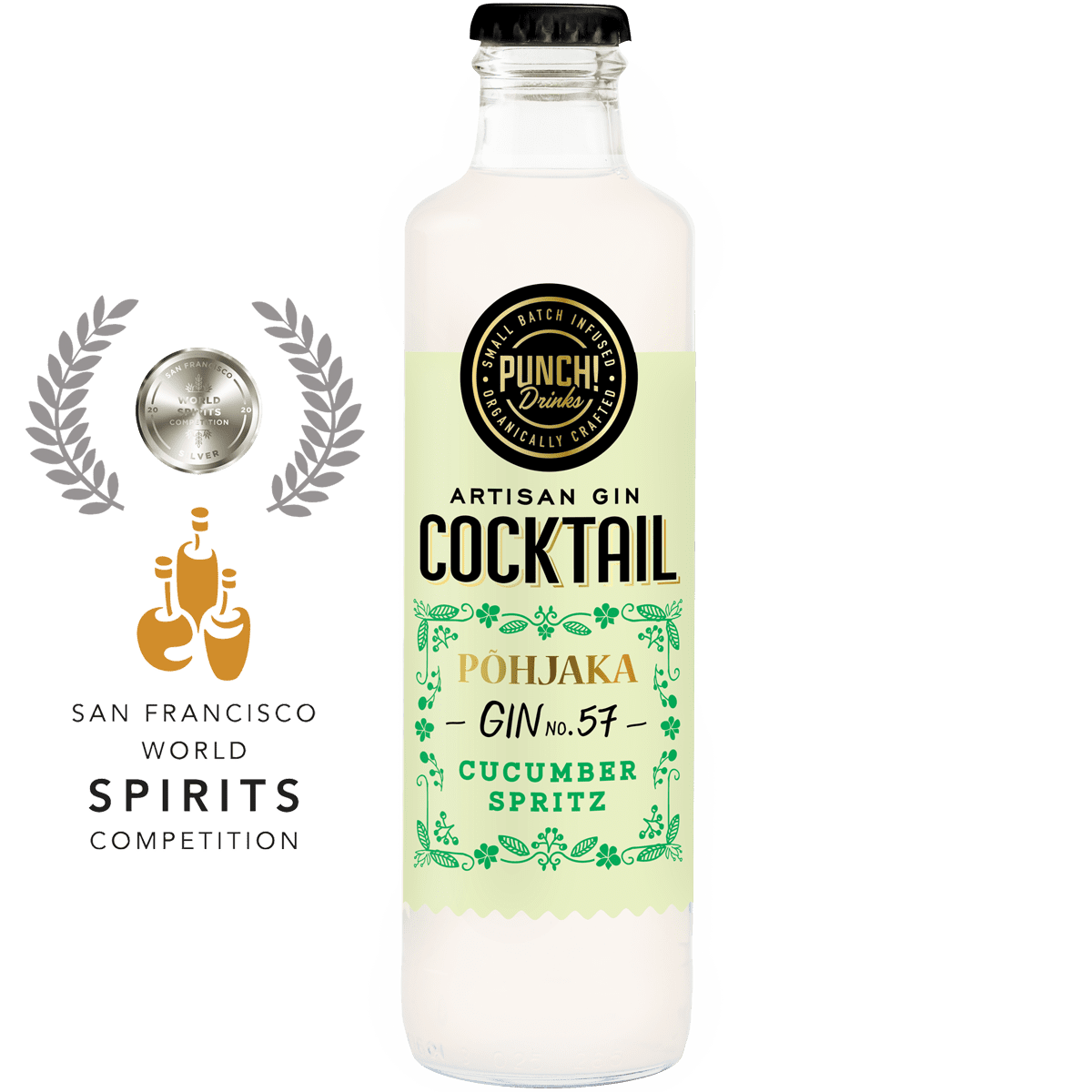 San Francisco Spirits Competion silver medalist Cucumber Spritz by Punch Drinks