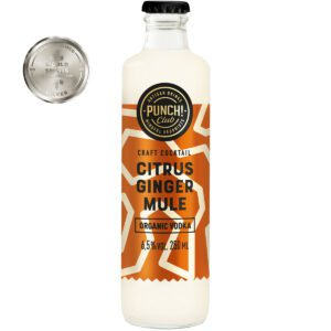 Moscow Mule. Award winning organic vodka cocktail by Punch Club®