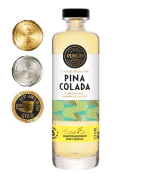 Classics Reimagined: Pina Colada. Award winning rum cocktail by Punch Club®