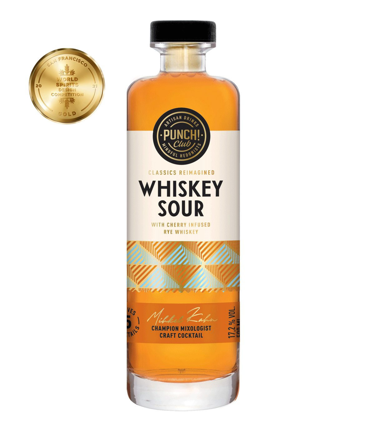 Classics Reimagined: Whiskey Sour by Punch Club. Award winning whiskey cocktail